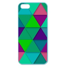 Background Geometric Triangle Apple Seamless Iphone 5 Case (color)