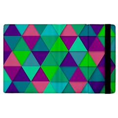 Background Geometric Triangle Apple Ipad 2 Flip Case