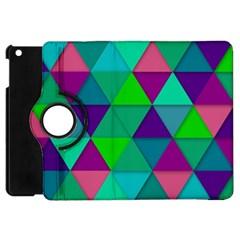 Background Geometric Triangle Apple Ipad Mini Flip 360 Case