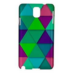 Background Geometric Triangle Samsung Galaxy Note 3 N9005 Hardshell Case