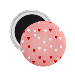 Heart Shape Background Love 2 25  Magnets by Nexatart