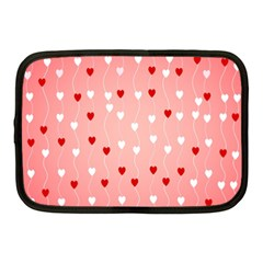 Heart Shape Background Love Netbook Case (medium)