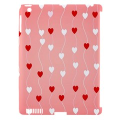 Heart Shape Background Love Apple Ipad 3/4 Hardshell Case (compatible With Smart Cover)