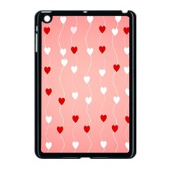 Heart Shape Background Love Apple Ipad Mini Case (black)