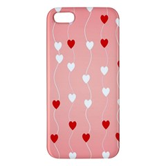 Heart Shape Background Love Apple Iphone 5 Premium Hardshell Case