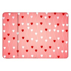 Heart Shape Background Love Samsung Galaxy Tab 8 9  P7300 Flip Case