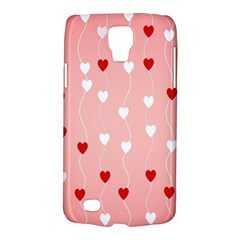 Heart Shape Background Love Galaxy S4 Active