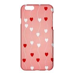 Heart Shape Background Love Apple Iphone 6 Plus/6s Plus Hardshell Case