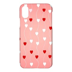 Heart Shape Background Love Apple Iphone X Hardshell Case