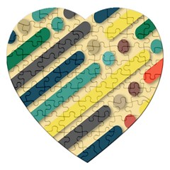 Background Vintage Desktop Color Jigsaw Puzzle (heart)