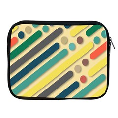 Background Vintage Desktop Color Apple Ipad 2/3/4 Zipper Cases