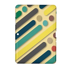 Background Vintage Desktop Color Samsung Galaxy Tab 2 (10 1 ) P5100 Hardshell Case