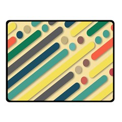 Background Vintage Desktop Color Double Sided Fleece Blanket (small)