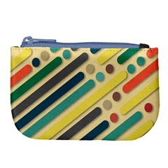 Background Vintage Desktop Color Large Coin Purse