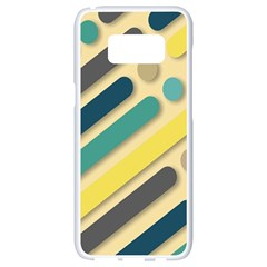 Background Vintage Desktop Color Samsung Galaxy S8 White Seamless Case