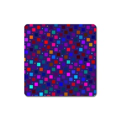 Squares Square Background Abstract Square Magnet