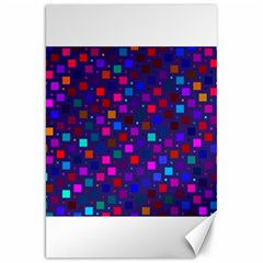 Squares Square Background Abstract Canvas 20  X 30