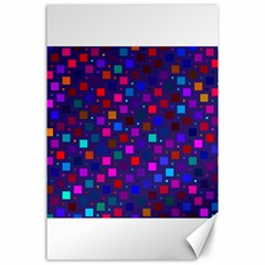 Squares Square Background Abstract Canvas 24  X 36