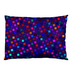 Squares Square Background Abstract Pillow Case