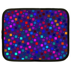 Squares Square Background Abstract Netbook Case (xxl)