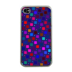 Squares Square Background Abstract Apple Iphone 4 Case (clear)