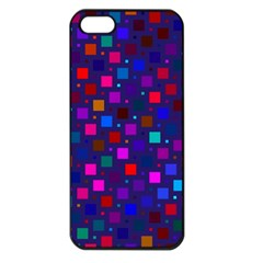 Squares Square Background Abstract Apple Iphone 5 Seamless Case (black)
