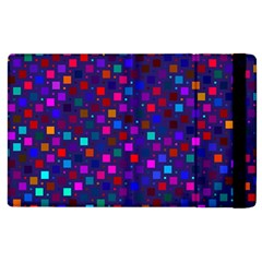 Squares Square Background Abstract Apple Ipad 3/4 Flip Case