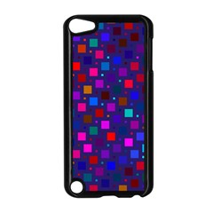 Squares Square Background Abstract Apple Ipod Touch 5 Case (black) by Nexatart