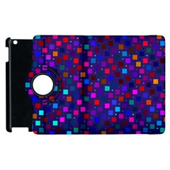 Squares Square Background Abstract Apple Ipad 3/4 Flip 360 Case