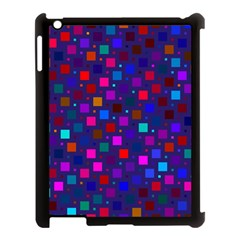 Squares Square Background Abstract Apple Ipad 3/4 Case (black)