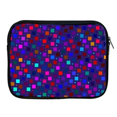 Squares Square Background Abstract Apple Ipad 2/3/4 Zipper Cases