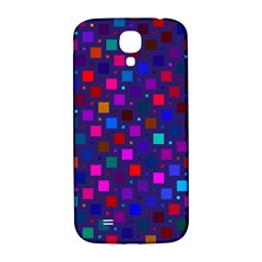 Squares Square Background Abstract Samsung Galaxy S4 I9500/i9505  Hardshell Back Case