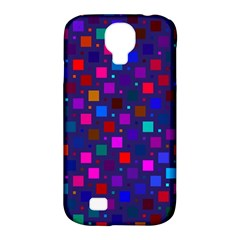 Squares Square Background Abstract Samsung Galaxy S4 Classic Hardshell Case (pc+silicone)