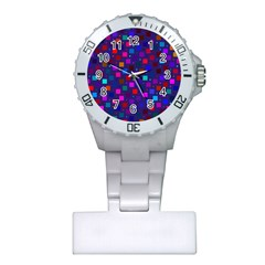 Squares Square Background Abstract Plastic Nurses Watch