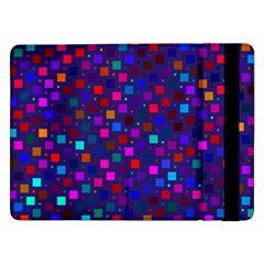 Squares Square Background Abstract Samsung Galaxy Tab Pro 12 2  Flip Case