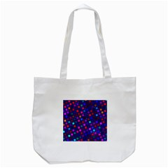 Squares Square Background Abstract Tote Bag (white)