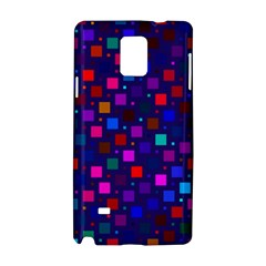 Squares Square Background Abstract Samsung Galaxy Note 4 Hardshell Case