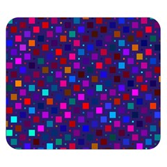 Squares Square Background Abstract Double Sided Flano Blanket (small)