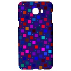Squares Square Background Abstract Samsung C9 Pro Hardshell Case