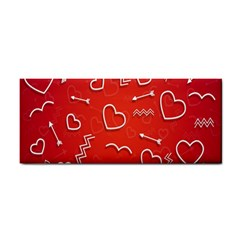 Background Valentine S Day Love Cosmetic Storage Cases