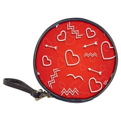 Background Valentine S Day Love Classic 20 Cd Wallets