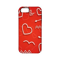 Background Valentine S Day Love Apple Iphone 5 Classic Hardshell Case (pc+silicone)