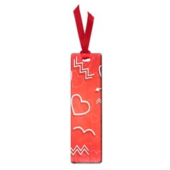 Background Valentine S Day Love Small Book Marks
