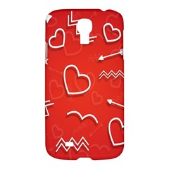 Background Valentine S Day Love Samsung Galaxy S4 I9500/i9505 Hardshell Case