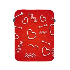 Background Valentine S Day Love Apple Ipad 2/3/4 Protective Soft Cases