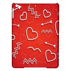 Background Valentine S Day Love Ipad Air Hardshell Cases