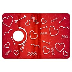 Background Valentine S Day Love Kindle Fire Hdx Flip 360 Case