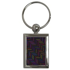 Lines Line Background Key Chains (rectangle)