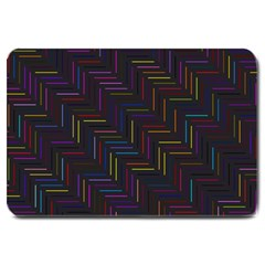 Lines Line Background Large Doormat
