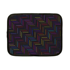 Lines Line Background Netbook Case (small)